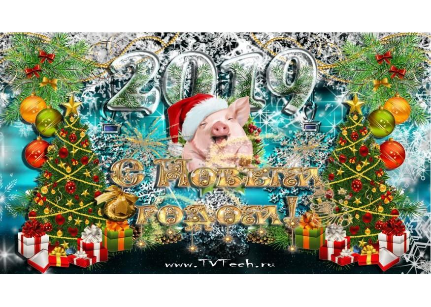 Поздравляем Вас с Новым 2019 годом!