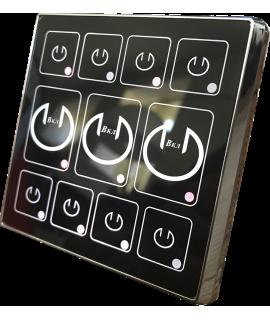 Выключатель света с 11 логическими сегментами
