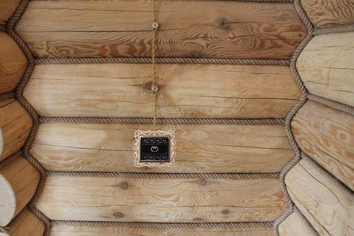 Подведение проводов к Умному выключателю методом открытого монтажа